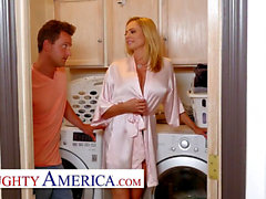 ultra-kinky America - Briana Banks ravages her Son's finest Friend