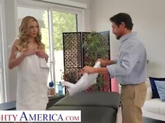 'Naughty America - Aiden Ashley need some stress relief and she gets it