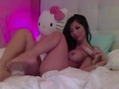 Asian babe on solo webca - other hot movies on my account