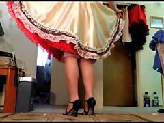 Sissy Ray upskirt 5 (for RIchard and Terry - two romantics)