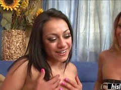 Rachel Milan gets talked into having a threesome