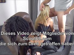 Black Dick Flotter Dreier Monster monster titten