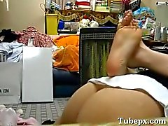 amateur asian teen gets creampied twice