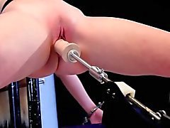 Sub fingered and whipped by dominas