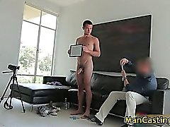 Sexy stud Mike sucks jizzster and gets