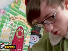 BANGBROS - Is Rachel Raxxx Naughty or Nice? Archie Stone The Elf Finds Out!
