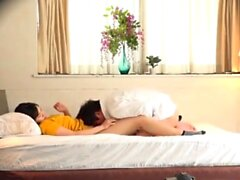 Japanese Schoolgirl Hardcore Threesome Fucking And Creampie