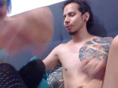 Webcam Anal blue hair