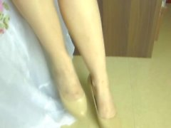 Nurse Footjob and Handjob