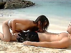 Extremely neat lovers sex on the beach
