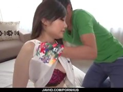 Rie Tachikawa amazes with her soft lips and tight vag