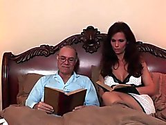Busty femdom milf dominates and uses vibrator