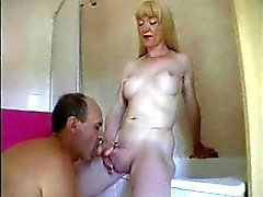 Mature Tranny And Lover