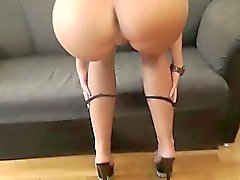 New Czech Does POV casting blowjob