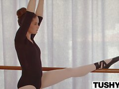 TUSHY Young Ballerina Explores Anal Sex with her Teacher