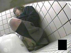Asiatische Toilette Versteckte Kamera