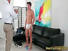 Sexy twink Turner wants to be pornstar part4