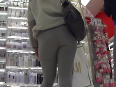 Two Grey Leggings