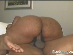 big black booty rides a cock