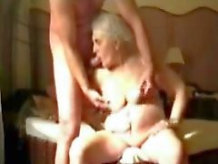 Very old granny still love pervert sex. Amateur older