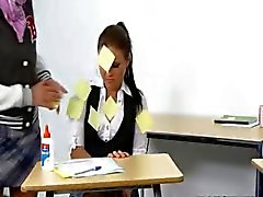 innocent babysitter punish the teacher