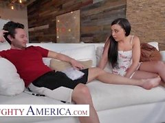Naughty America - Whitney Wright Fucks Her Friends Hot Brother