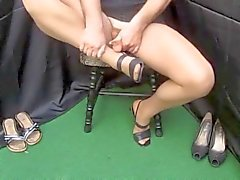 Cumshots Stockings Foot Fetish Wichsen X45