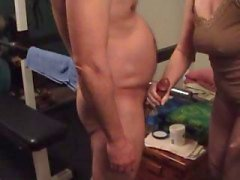 Mormon wife turns slut bangs and Army guy and gets creampie