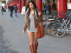 Supersexy 18yo miniskirt Bitch fucked in public in Berlin (New! 19 Jan 2021) - Sunporno