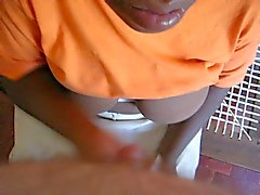 African House Maid Hand Job