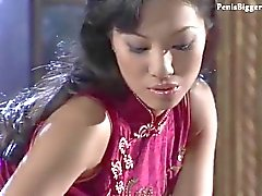 Asian hottie massage