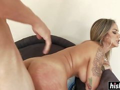 Nadia craves for a monster cock