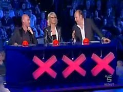 PRIVAT BOXXX - Fernseher 01. (Italia Got Talent )