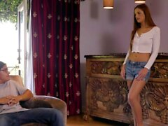 DADDY4K. Red-haired babe doesnt mind having an affair