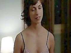 Morena Baccarin naked in a sex scene with a guy in which
