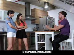 StepSiblings - Fucking Both My Stepsisters At Once