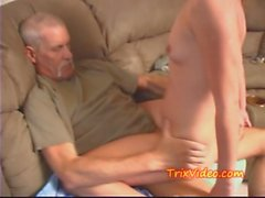 Daddy fucks Daughter while mom&#039_s at work