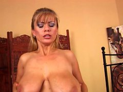 Big Boobed Blonde Stepmom Fucks A Younger Cock