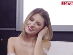 'HerLimit - Rebecca Volpetti Tiny Romanian Slut Gets Her Asshole Gaped And Fucked Hard By A Big White Cock'