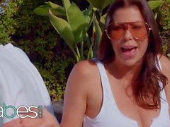 BABES - StepMom Alexis Fawx And Eliza Play With A Big Black Cock