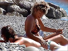 incredible french lesbian nude topless beach french riviera