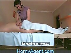HornyAgent fucking Physiotherapeut total Mütter