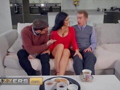 'Brazzers - Horny MILF Jasmine Jae Takes A Monster Cock & Gets Filled With Cum On Her Face & Mouth'