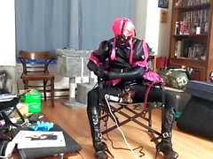 Sissy Slut Chair Tied Again
