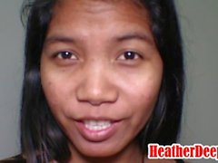 '15 week pregnant thai teen asian super horny gives deepthroat and throatpie'