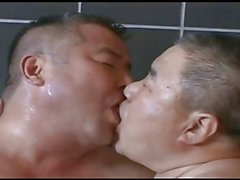 Daddy japanese in bathroom calda
