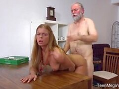 chrissy fox old man pays a hot delivery girl with sperm