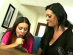 Mothers Teaching Daughters How To Suck Cock 16